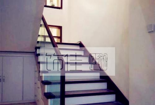 威海玻璃楼梯