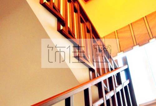新中式实木楼梯